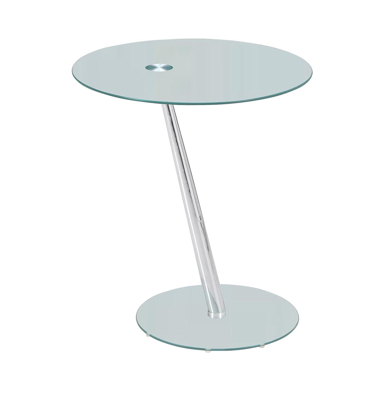 Premier AV ST01 Tisch Kaffee Beistelltisch Glas 50 x 50 x 58 cm