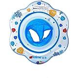 UClever Siège Gonflable Infant Bouée Sous Le Bras Anneau Bath avec Poignée (Bleu)