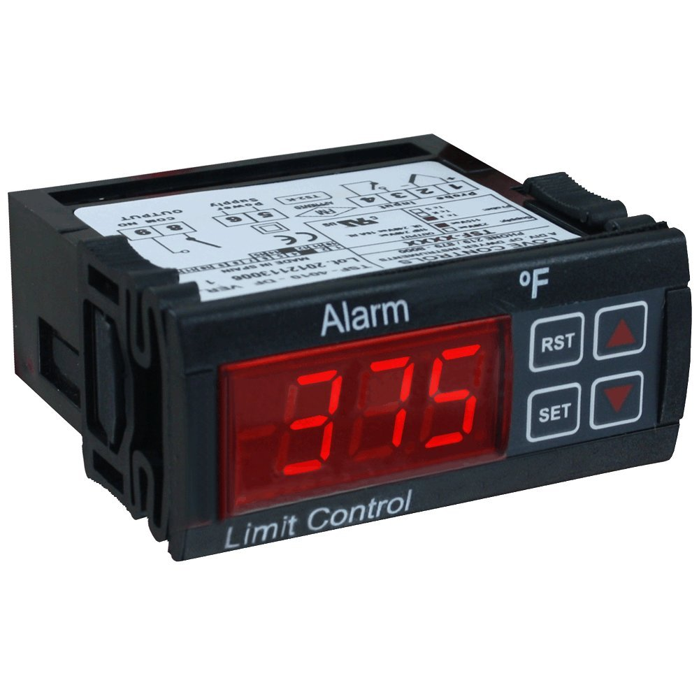 Love Thermocouple Limit Alarm, TSF-4010-MDF, 110 V, °F, Type J/K Input, w/ Programming Control