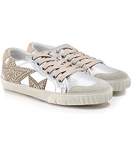 Femme Et Chaussures Blanc Ash Marble Footwear Shake Baskets En Cuir TK1JlcF3