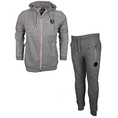 e9bb03a1dc77a 883 Police Innis Hamblin Zip Hooded Slim Fit Grey Tracksuit L Grey ...