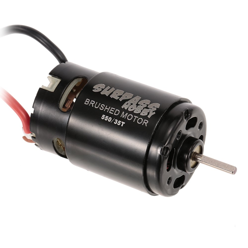 Goolsky SURPASS HOBBY 550 35T Brushed Motor for HSP HPI Wltoys Kyosho TRAXXAS 1//10 RC Car Off-road Crawler Vehicle