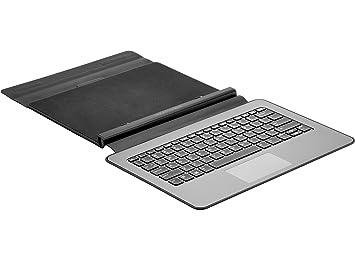 HP Pro x2 612 Travel Keyboard Negro Teclado para móvil - Teclados para móviles (Negro