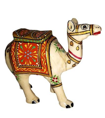 Amazon.com: Laxman Art Handicraft Camel Bone Camel Figure ...