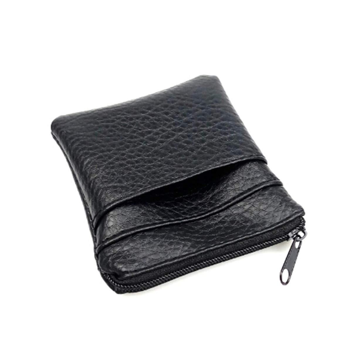 LALANG Women Men Mini Coin Purse Short Wallet Bags Key Credit Card Pouch Holder