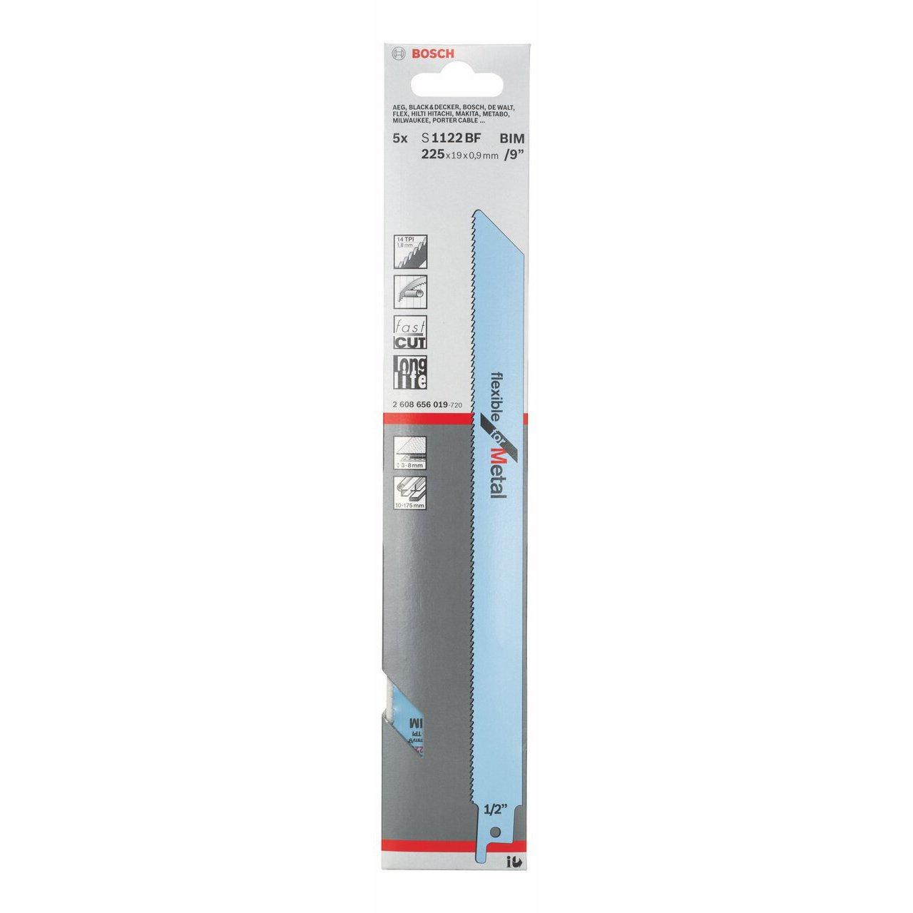 S 123 x F Bosch Professional 2608654401 S/äbels/ägeblatt 2 Fuchsschwanzs/ägebl