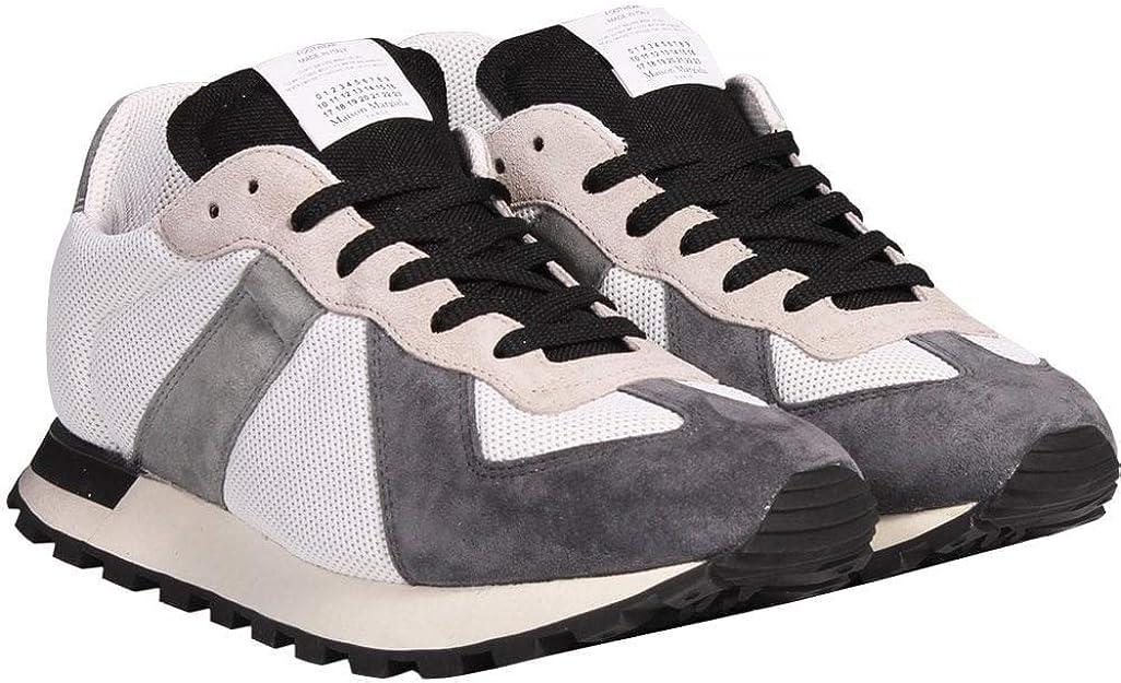 Margiela Maison Margiela Replica Runner Zapatillas Blancas UK 6 White: Amazon.es: Zapatos y complementos