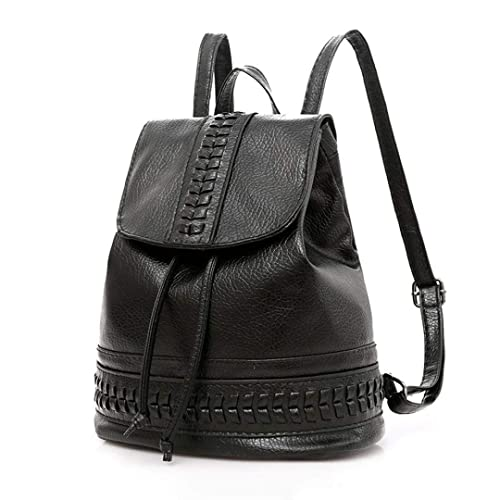 fd9d6b75b4 Amazon.com  Classic Wobuoke Women Four Sets Backpack Handbag Shoulder Bags  Four Pieces Tote Bag Crossbody Clearance (Black)  Shoes
