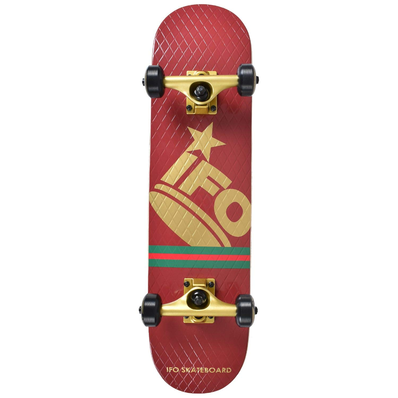 一流の品質 IFO アイエフオー キッズ スケートボード コンプリートセット DIA-TONE-COMPLE スケートボード B07L89GGJH アイエフオー DIA-TONE-COMPLE RED 7inch, Designers&Laboshop:5f3cbb2c --- a0267596.xsph.ru