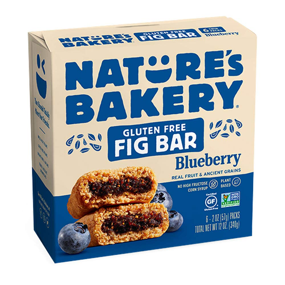 Natures Bakery, Blueberry Fig Bar, 2 Ounce, 6 Count