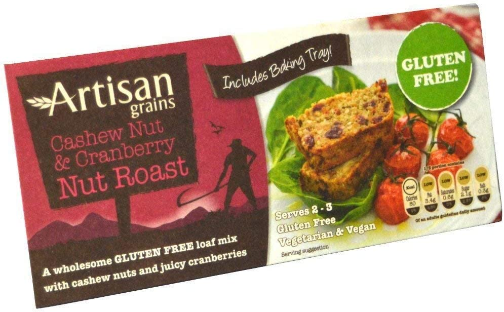 Artisan Grains Cashew Nut and Cranberry Roast 200g