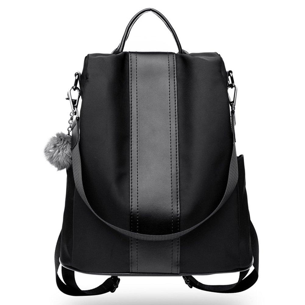 Women Backpack Purse Waterproof Leather Anti-theft Lightweight Shoulder Bag Oxford