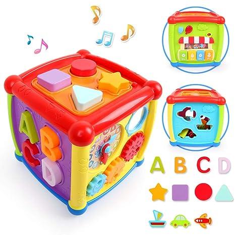 Lbla Jouet Bebe Jouet Musical Bebe Cube Bebe Jouets Educatifs 1 An 2 Ans