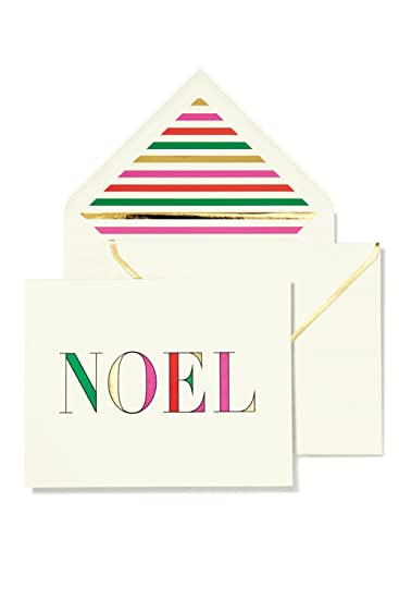Amazon.com : Kate Spade Noel Holiday Cards : Office Products