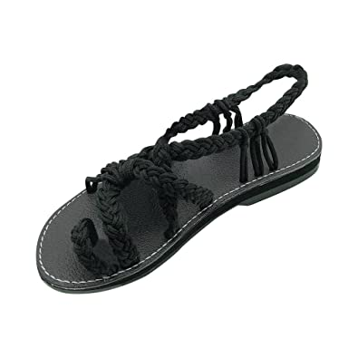 quality and quantity assured hot-selling latest superior performance Amazon.com | Leaf2you Reggae-Loopy Sandals for Womens ...