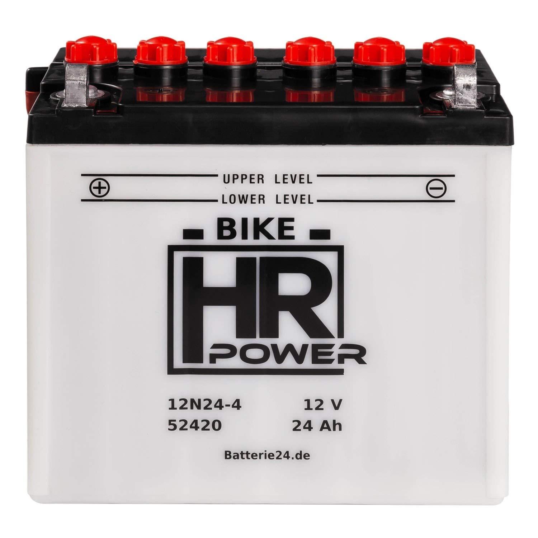 HR Power Rasentraktor 52420 12N24-4 12V 24Ah