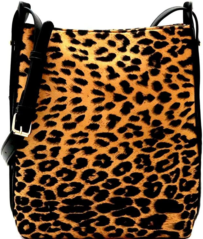 Leopard Print FeltSuede...