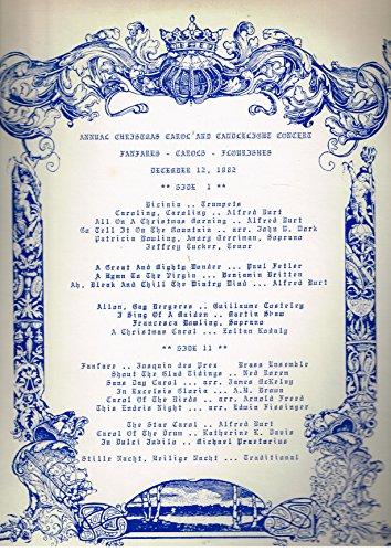 Annual Christmas Carol and Candlelight Concert - Fanfares, Carols, Flourishes - - Hanover Mall
