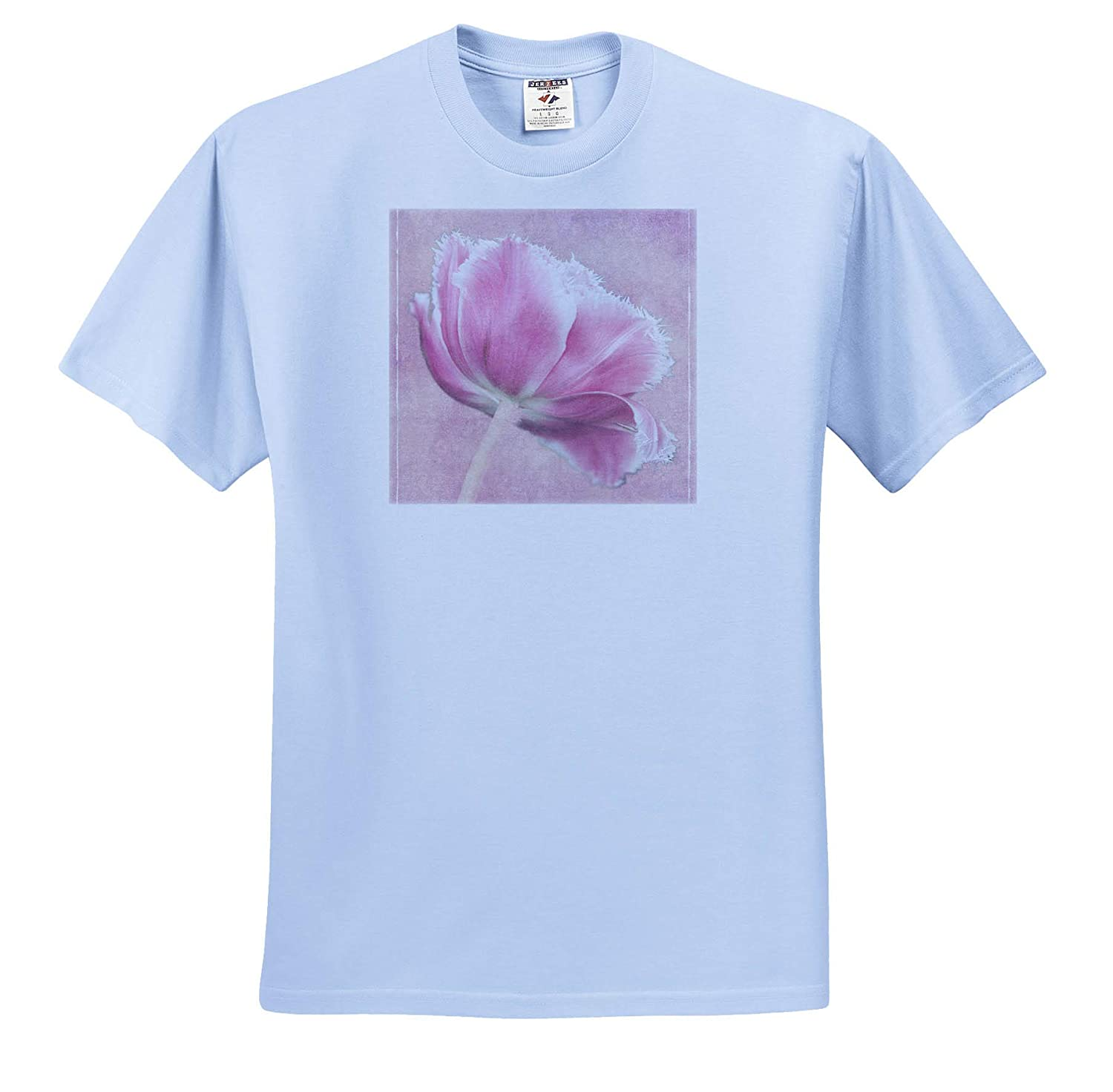 Adult T-Shirt XL Tulip Pink Tulip ts/_313771 Digitally Altered 3dRose Danita Delimont
