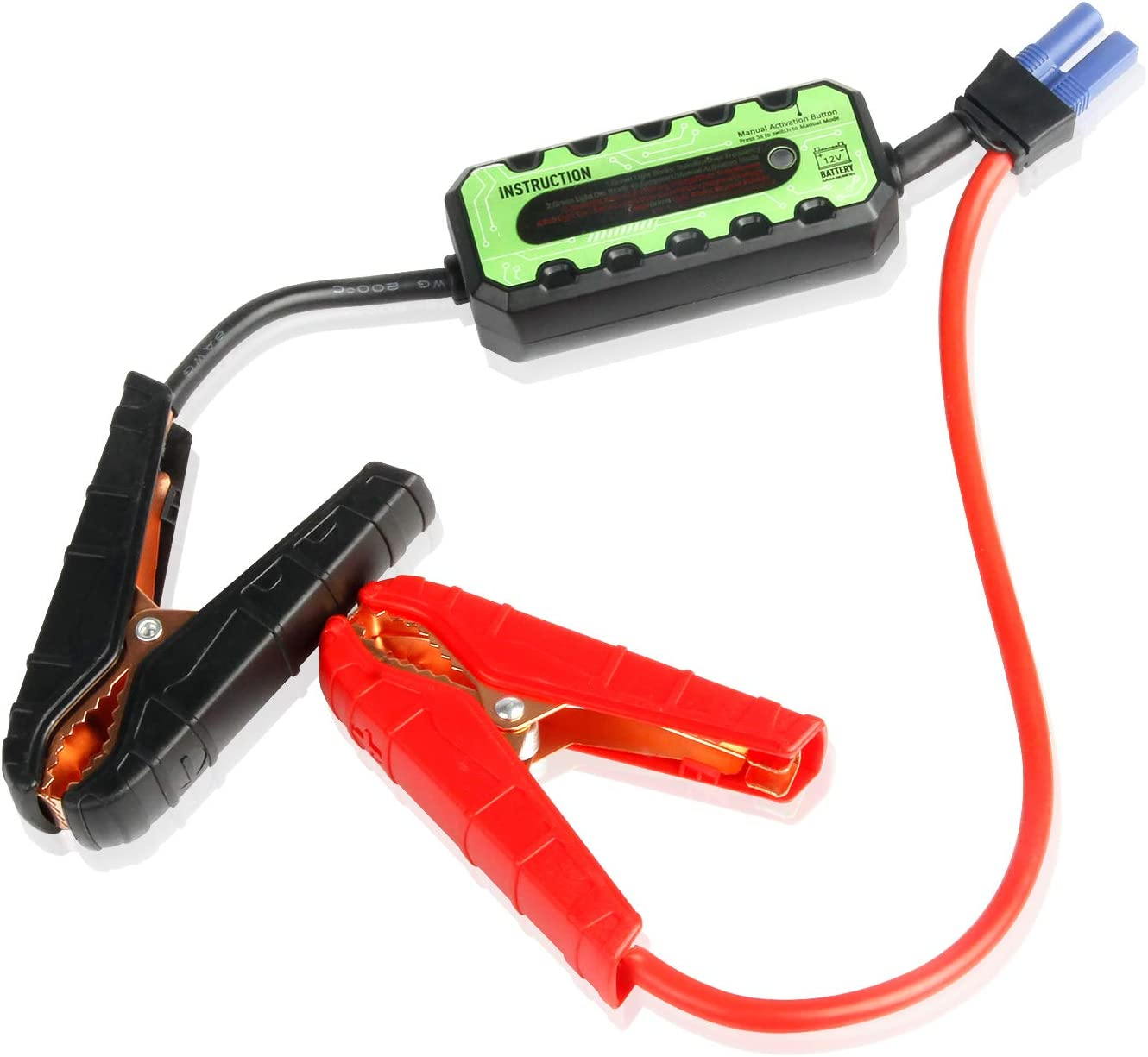 Enerdock Original Replacement Jump Leads For Picowe Jump Starter Smart Cable Battery Clip Auto
