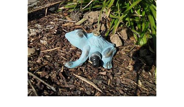 - Aspersor para el jardín - Rana Frog Brunnen trog Jardín grifo Faucet: Amazon.es: Jardín