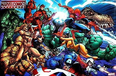 Amazon.com: Marvel Comics Presents # 1 Cartel por J. Scott ...