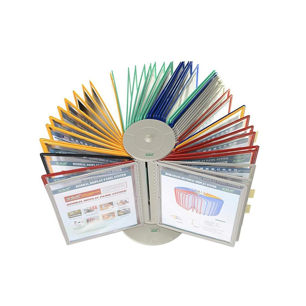 QSJY File Cabinets Desktop Display, Desktop or Wall-Mounted Home Photo Display Stand with Adjustable tilt (Plastic PVC)