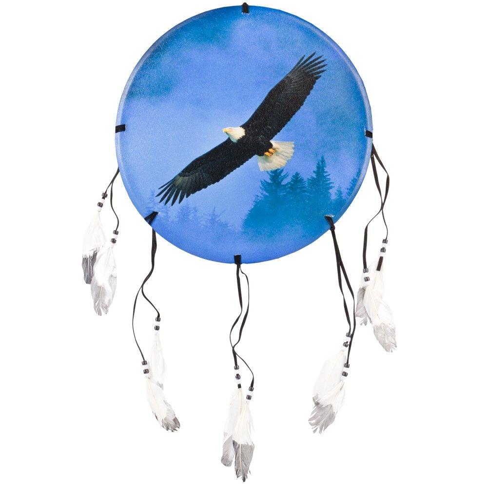 Animal World - Eagle Soaring Above Trees Dream Catcher - Multi