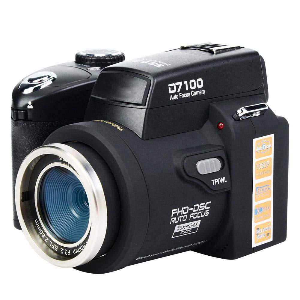 AYNEFY - Cámara réflex Digital FHD de 33 MP y 1080P con Lente Gran ...