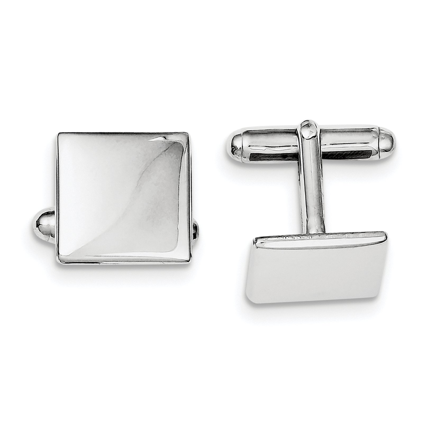 ICE CARATS 925 Sterling Silver Square Cuff Links Mens Cufflinks Man Link Fine Jewelry Dad Mens Gift Set