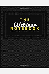 The Webinar Notebook Diary