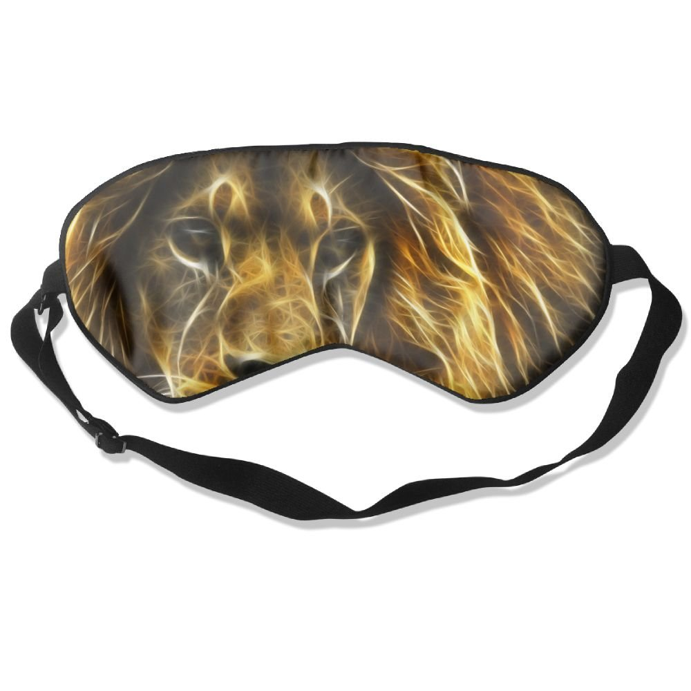 Sleep Mask Lion Face Eye Cover Blackout Eye Masks,Soothing Puffy Eyes,Dark Circles,Stress,Breathable Blindfold For Women Men