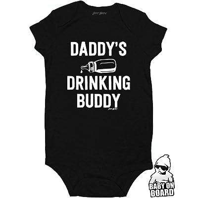 05eb1d478 Daft Baby Daddy's Drinking Buddy Funny Baby Onesie Baby Shower Gift ...
