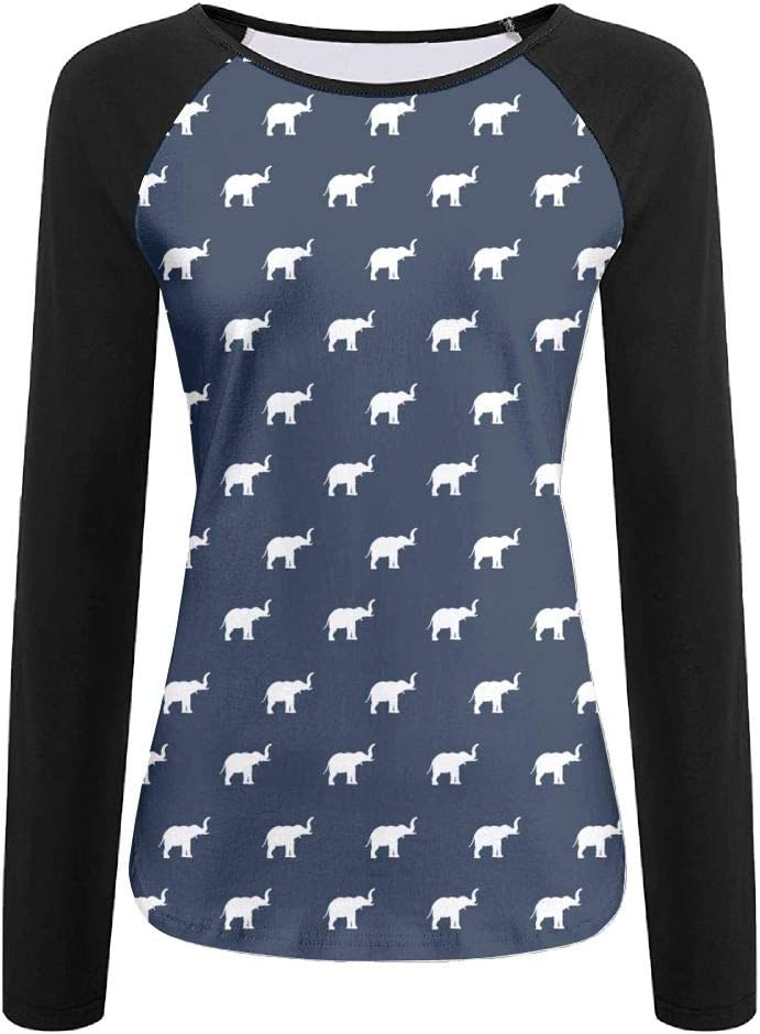 WANING MOON Womens Long Sleeves Funny Sloth Baseball Tshirts Printing Tee Sports Raglan T-Shirt