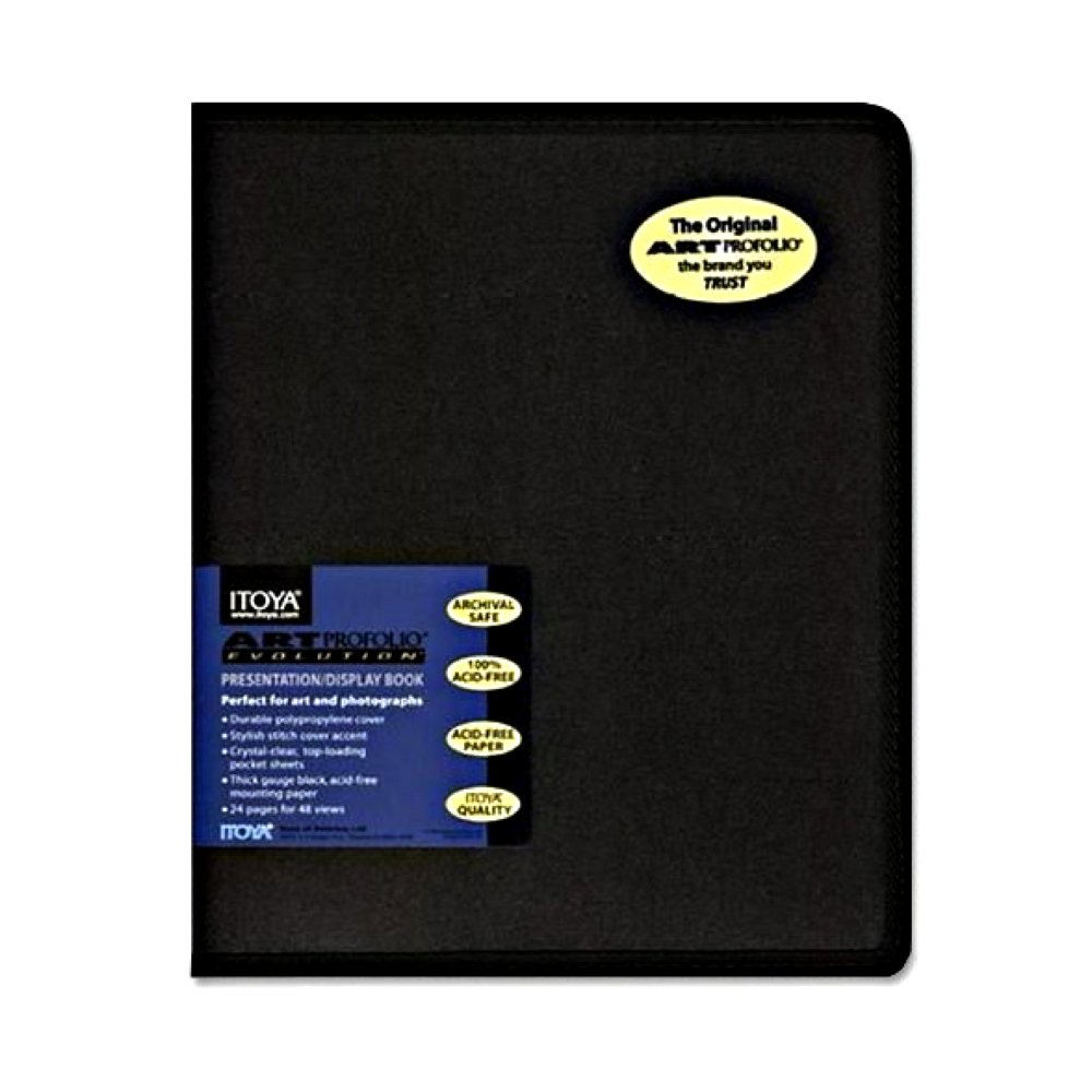 Scrapbook paper carrying case - Itoya Art Profolio Evolution Storage Display Book 18 In X 24 In