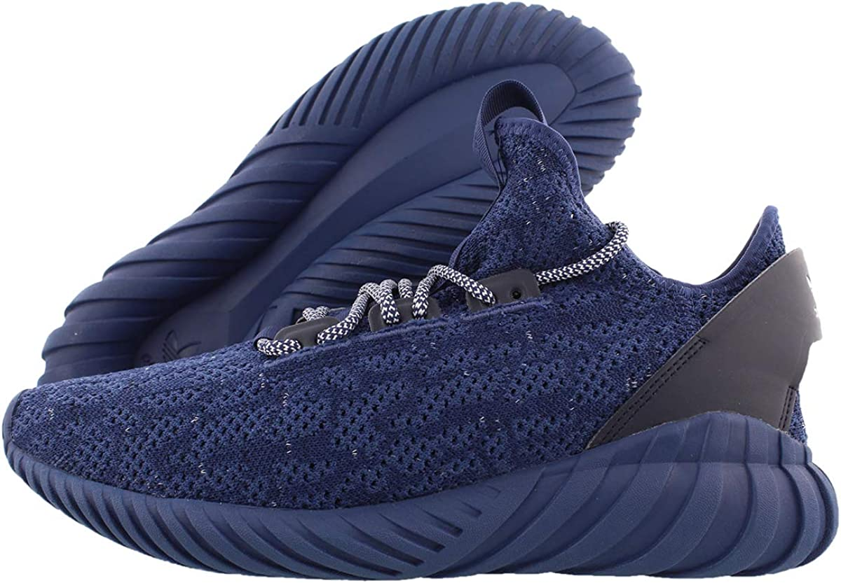 Claire consumirse Literatura  Amazon.com | adidas Mens Tubular Doom Sock Primeknit Casual Sneakers, Blue,  11 | Fashion Sneakers