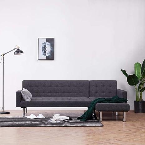 UnfadeMemory Sofa Cama de Salon en Forma de L,Decoración de ...
