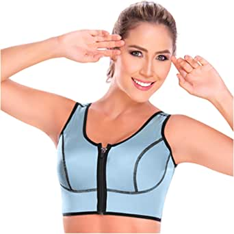 M&D B0521 Sports Bras for Women High Impact | Sujetador Deportivo para Mujeres