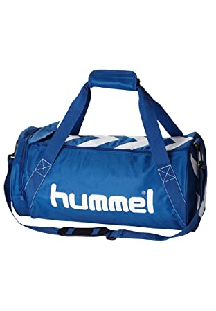Hummel STAY AUTHENTIC SPORTS BAG XS blue True Blue White Size 40.5 x 16.5 bedf26a7c6b4a