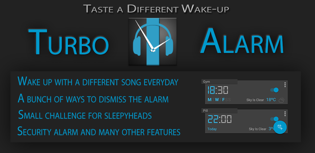 Turbo Alarm - Despertador