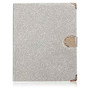 Bling Glitter Bank Card Slot PU Leather Stand Case For iPad 2 3 4