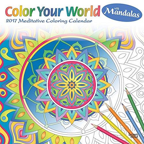 Meditative Coloring Mandalas 2017 Calendar product image