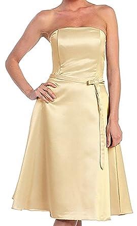 Cocktailkleid Abendkleid kurz Abiballkleid Brautjungfernkleid ...