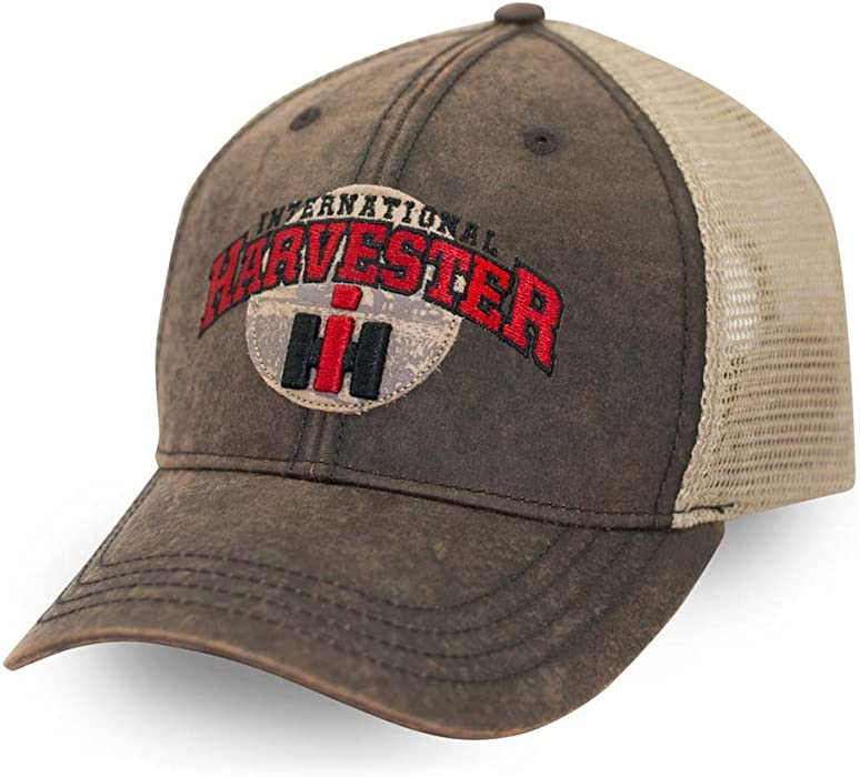 8c41f556a0fe1 International Harvester Washed Wax Cloth Cap at Amazon Men s Clothing store