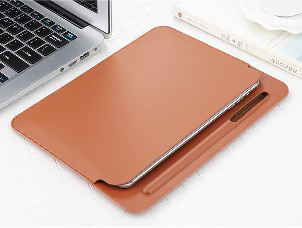 pink 7.9 Inch PU leather Ultra-slim Full Body Protective Cover Built-in Apple Pencil Holder XIHAMA Sleeve Case for iPad mini 5 2019