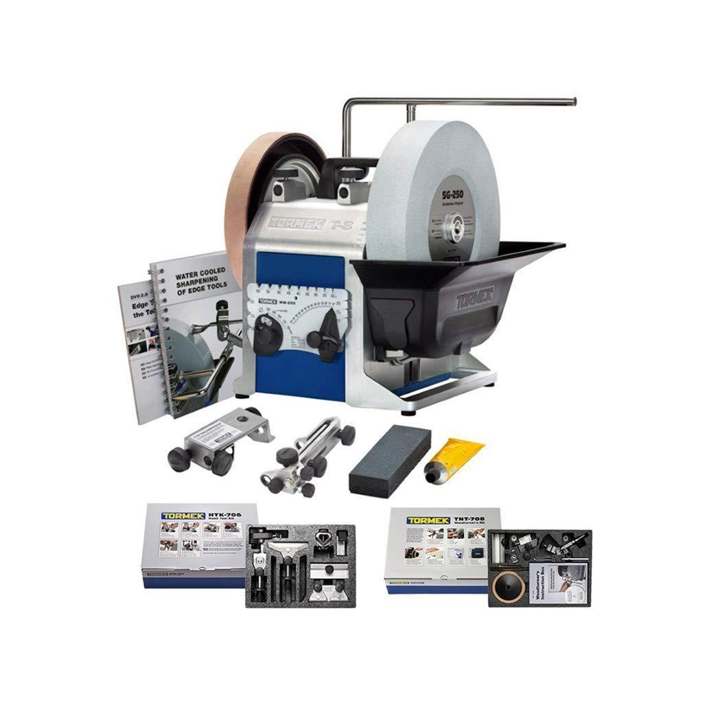 Tormek T8 Nassschleifmaschine Sch/ärfsystem Schleifmaschine TNT708 HTK706