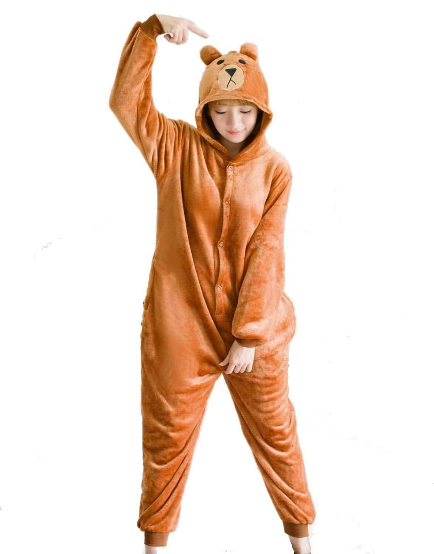 più recente 5439a 40829 Pigiama Unisex Adulto Cosplay Costume Animale Peluche Halloween e ...