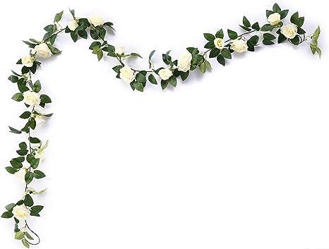 Wedding Artificial Silk Rose Leaf Leaves Green Bouquet Garland Flower Decorative