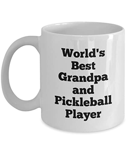 15b0d94dba56 Amazon.com  Best Unique Gift Mug for Pickleball Players