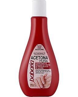 Babaria Acetona Pura Esmaltes y Geles Permanentes Quitaesmalte - 200 ml